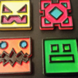 Free 3D model Geometry Dash Icons, ChaosCoreTech