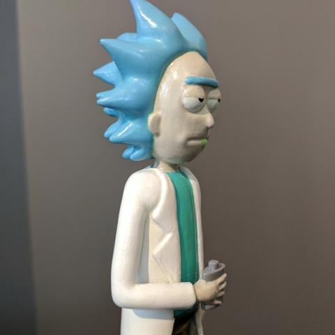 Capture d'écran 2017-02-25 à 00.41.52.png Download free STL file Rick Sanchez [Rick and Morty] • 3D print model, ChaosCoreTech