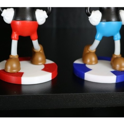 b4bf377808bb15c5612d3d0f56d744ab_preview_featured.JPG Download free STL file Cuphead and Mugman • 3D printing model, ChaosCoreTech