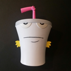 Download free STL file Master Shake - Aqua Teen Hunger Force • Design to 3D print, ChaosCoreTech