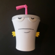 Download free STL Master Shake - Aqua Teen Hunger Force, ChaosCoreTech