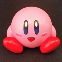 Free 3D printer file Kirby - Easy to Print, ChaosCoreTech