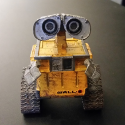Download free 3D printing models Wall-E Figure, ChaosCoreTech
