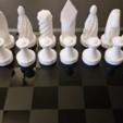 Fichier impression 3D gratuit Creative/Weird Chess Set, ChaosCoreTech