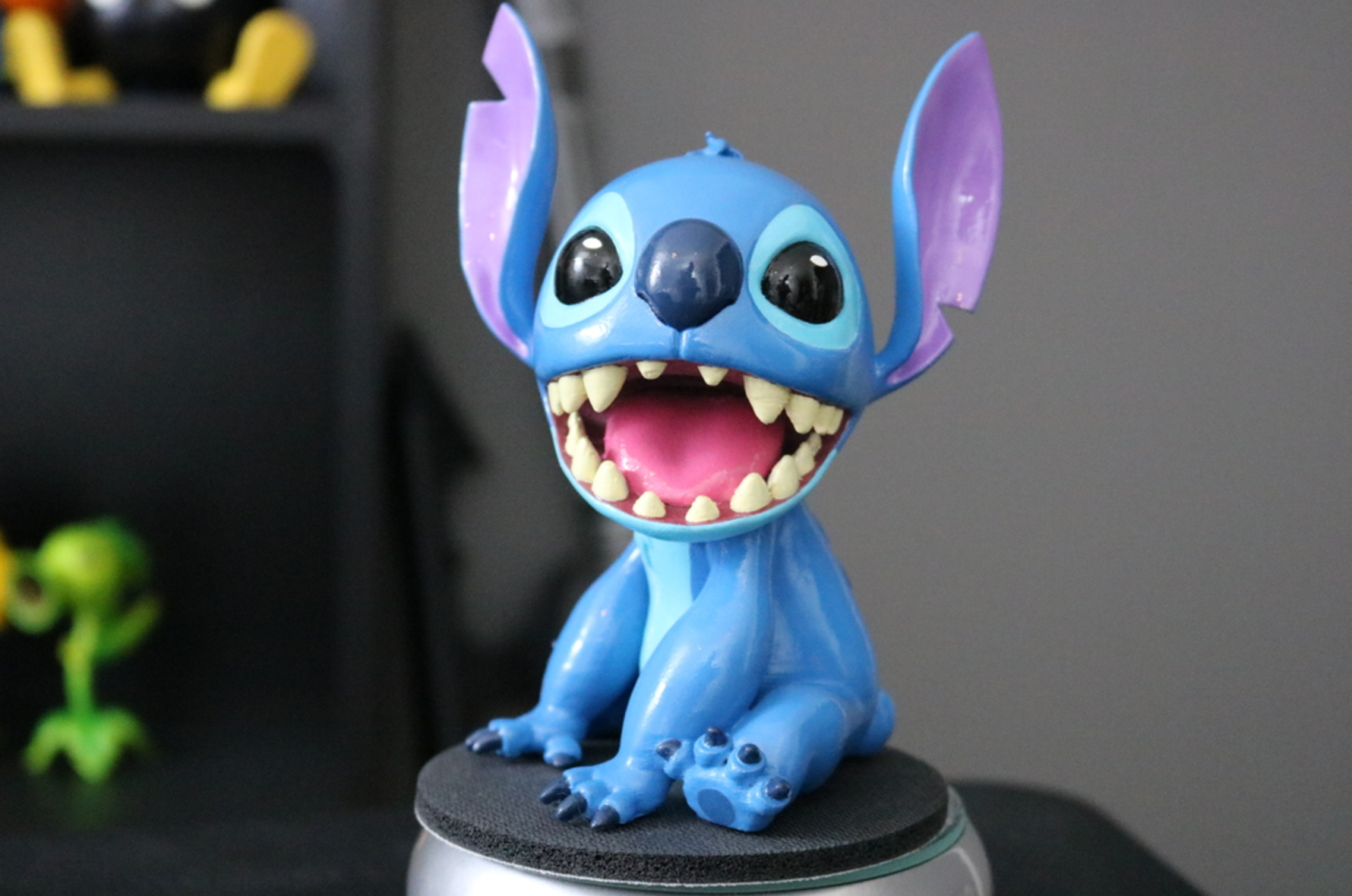 Lilo and Stitch 3D printing 3D printed impression 3D Imprimante 3D fichier 3D gratuit Cults6.png Download free STL file Stitch [Lilo and Stitch] • 3D printable template, ChaosCoreTech