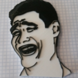 Free 3D print files Meme Faces, ChaosCoreTech