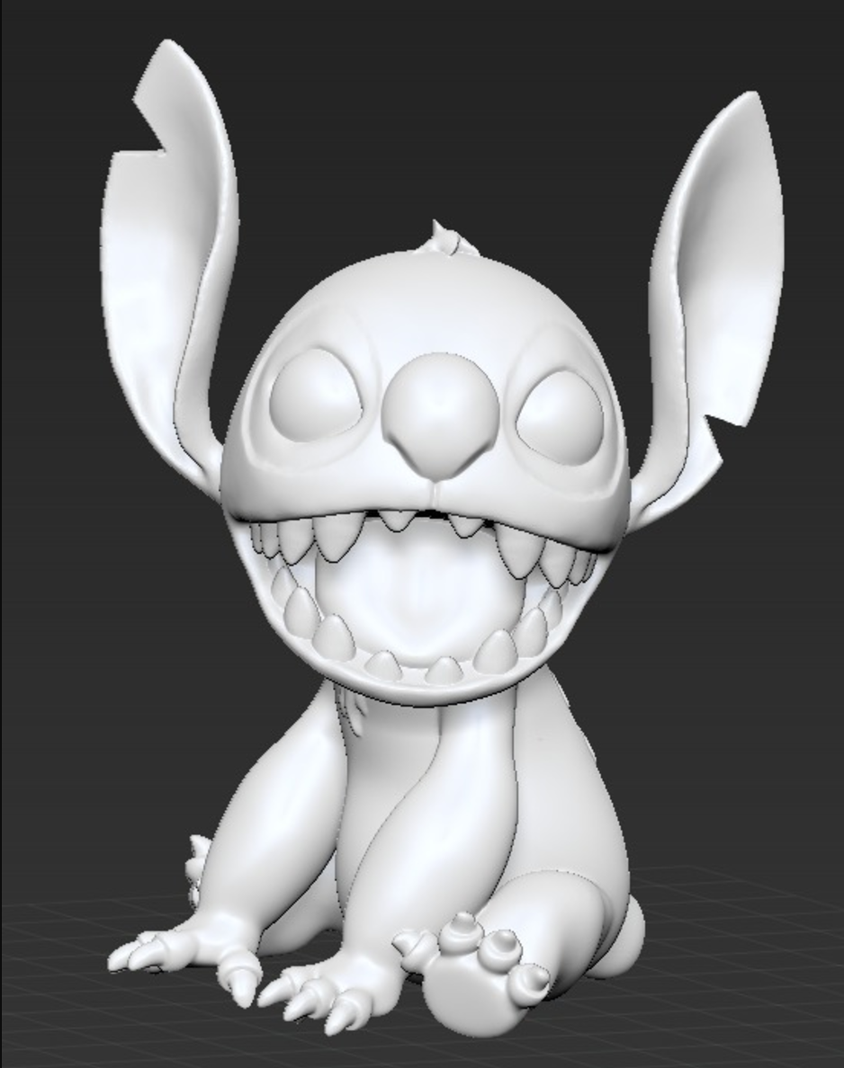 Lilo and Stitch 3D printing 3D printed impression 3D Imprimante 3D fichier 3D gratuit Cults1.png Download free STL file Stitch [Lilo and Stitch] • 3D printable template, ChaosCoreTech
