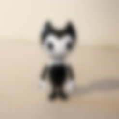 bendy.stl Download free STL file Bendy - Bendy and the Ink Machine • Model to 3D print, ChaosCoreTech