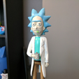 Free 3D printer files Rick Sanchez [Rick and Morty], ChaosCoreTech