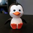 Télécharger fichier imprimante 3D gratuit Pingouin mignon, ChaosCoreTech