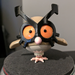Download free STL file Hoothoot [Pokemon] • 3D printing object, ChaosCoreTech
