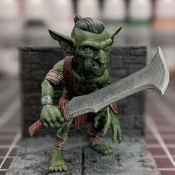 goblin2.jpg Download STL file Goblin D&D Set • 3D printer model, ChaosCoreTech