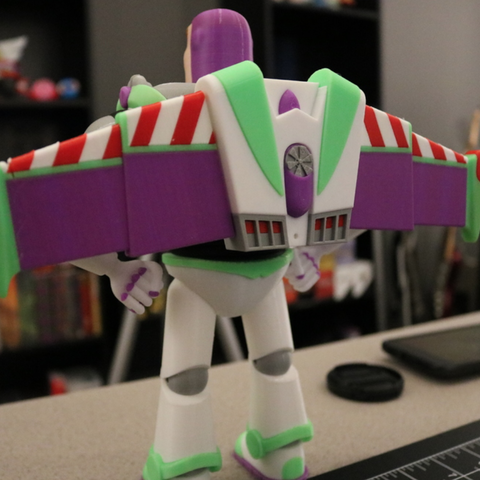 Capture d'écran 2018-10-15 à 15.03.54.png Download free STL file Buzz Lightyear - Multi Color Print • 3D printable design, ChaosCoreTech