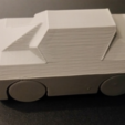 Free 3D file Print in Place Toy Car, ChaosCoreTech