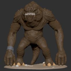 "Download 3D printing templates ""Pit Monster"" 3D Printing STL, ChaosCoreTech"