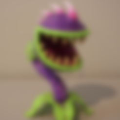 Download free STL Chomper (Plants Vs Zombies), ChaosCoreTech