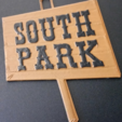 Free Mr Hankey & South Park Sign STL file, ChaosCoreTech