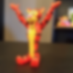 Free STL files  Tigger [Winnie the Pooh], ChaosCoreTech