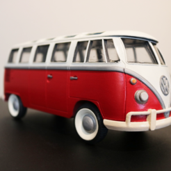 Volkswagen Bus 1970 STL file 3D printing Cults fichier 3D 2.png Download free STL file Volkswagen Bus 1970s • 3D printable model, ChaosCoreTech