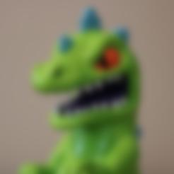 Modèle 3D gratuit Reptar [Razmoket], ChaosCoreTech