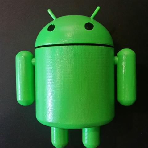Capture d'écran 2016-12-27 à 10.06.14.png Download free STL file Bugdroid - Android Mascot • 3D printing object, ChaosCoreTech