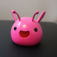 Download free 3D printing files Slime Rancher Largos! - Pink Rock, Pink Tabby, Rock Tabby, Pink Phosphor, ChaosCoreTech