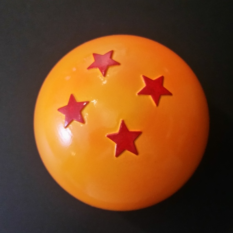 Download free STL file 4 Star Dragonball • 3D print model, ChaosCoreTech