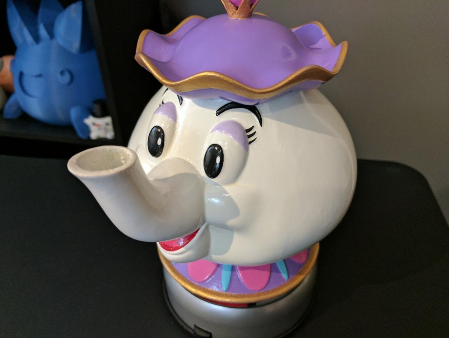 Capture d'écran 2017-03-23 à 10.26.07.png Download free STL file Mrs Potts Container! [Beauty and the Beast] • 3D print design, ChaosCoreTech