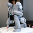 Free stl files Massive Iron Giant and Hogarth, ChaosCoreTech