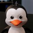 Free 3d printer designs Cute Penguin, ChaosCoreTech