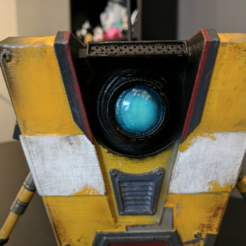 Free 3d printer files Claptrap from Borderlands!, ChaosCoreTech