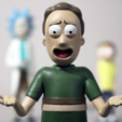 Download free STL file Jerry! [Rick and Morty] • 3D printer object, ChaosCoreTech
