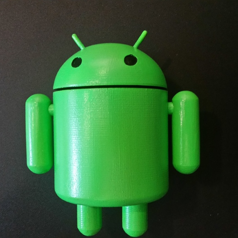 Download free 3D printer designs Bugdroid - Android Mascot, ChaosCoreTech