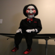 Free STL files Billy The Doll From Saw / Jigsaw, ChaosCoreTech