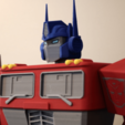 Free Big Optimus Prime! - Multi Material Model STL file, ChaosCoreTech