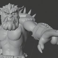bugbear2.png Download STL file Bugbear D&D Set • Template to 3D print, ChaosCoreTech
