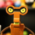 Free 3d printer model Roberto [Futurama], ChaosCoreTech