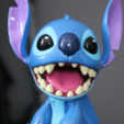 Free STL Stitch [Lilo and Stitch], ChaosCoreTech