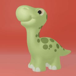 bronty2.png Download STL file Bronty • 3D printable object, ChaosCoreTech