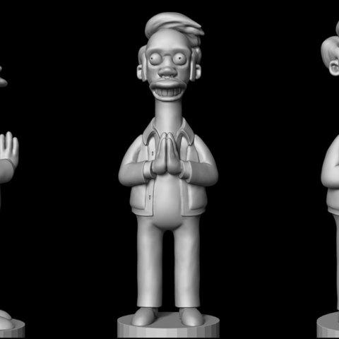 apu_simpson_01.jpg Download OBJ file Apu from the Simpsons • 3D printing design, udograf