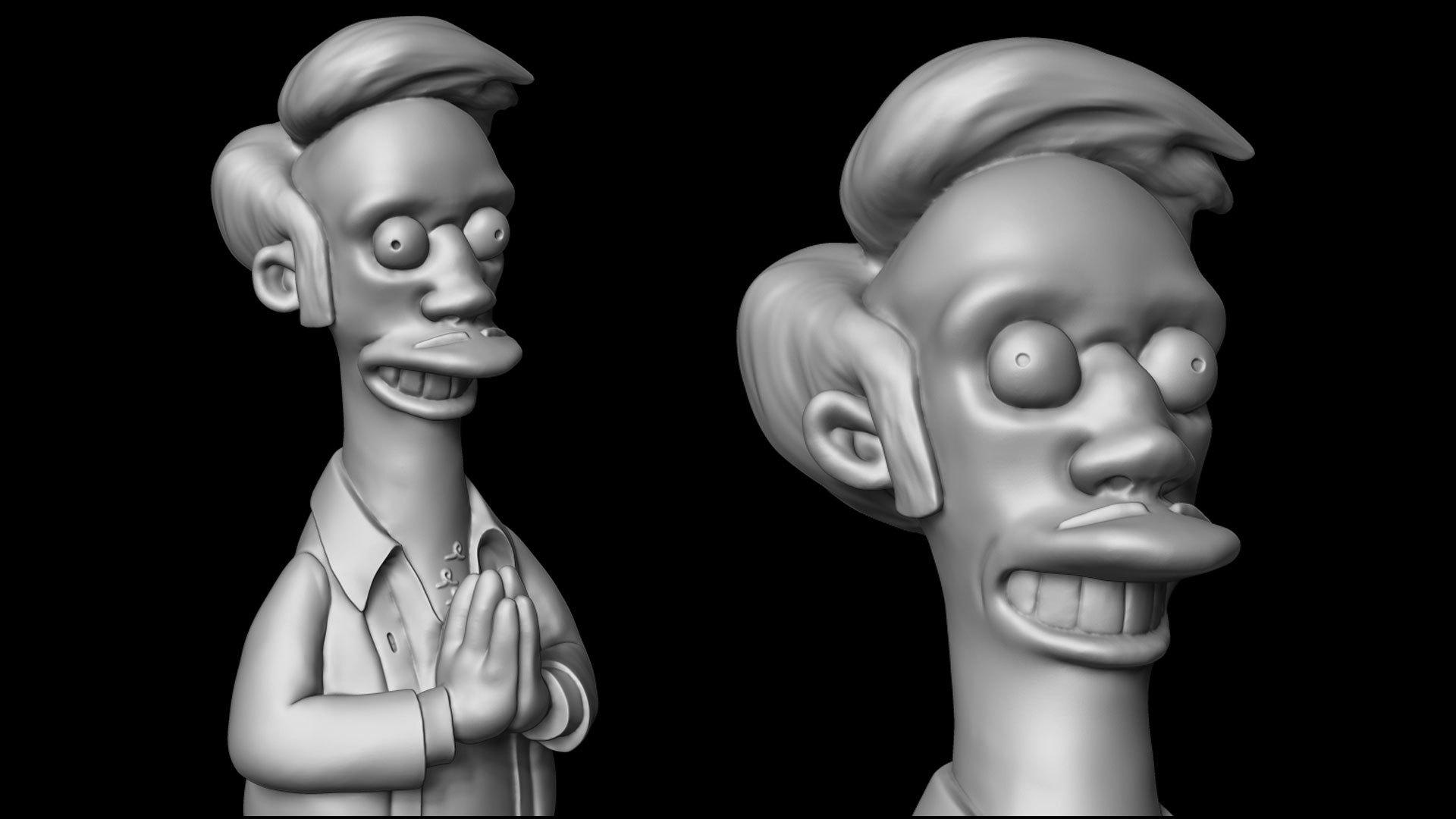 apu_simpson_03.jpg Download OBJ file Apu from the Simpsons • 3D printing design, udograf