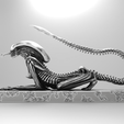 Plan 3D Sphinx Alien Sphinx, udograf