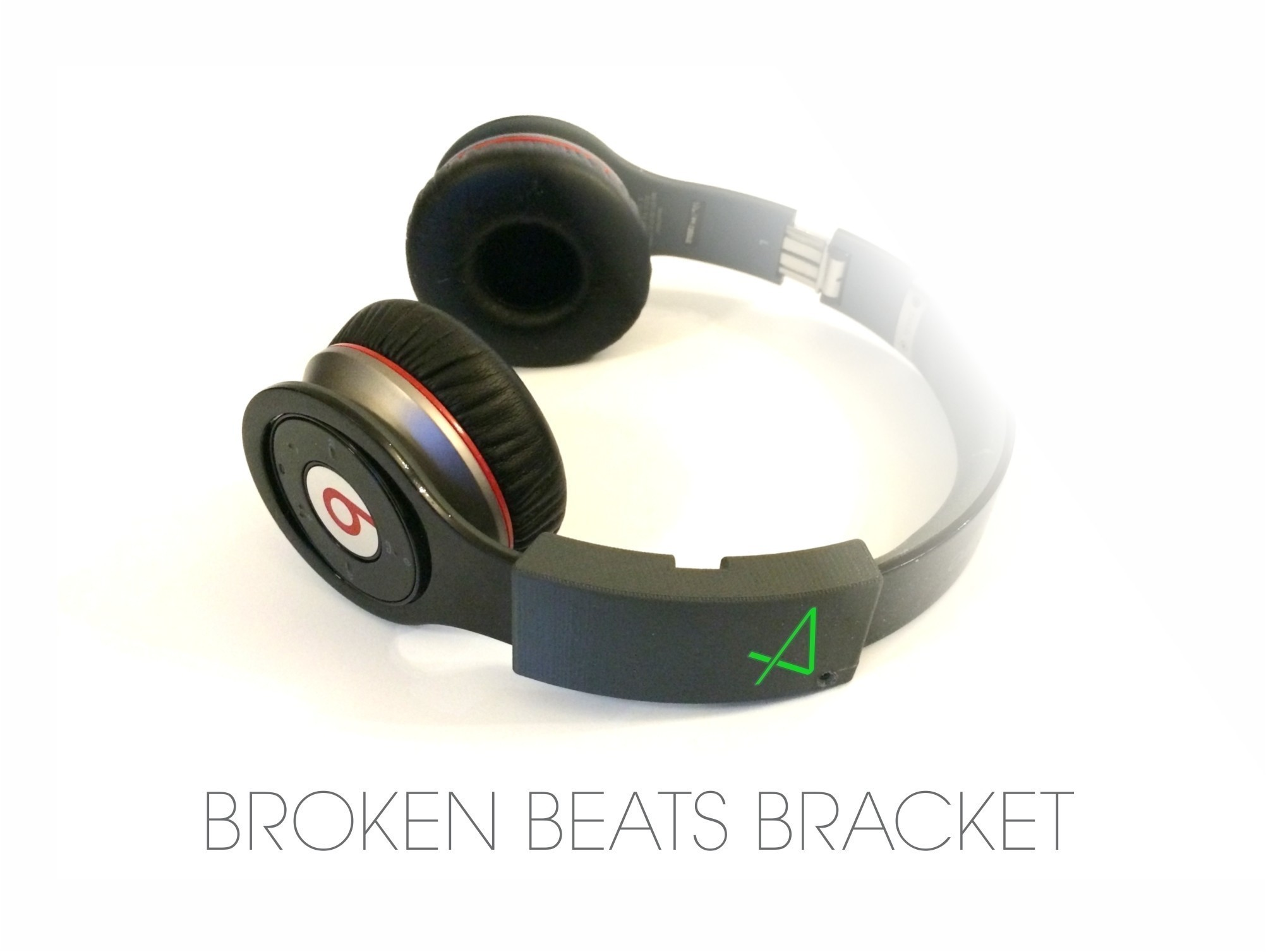 BROKEN_BEATS_STRAP_BRACKET_v2.jpg Download free STL file Broken Beats Bracket • 3D printable design, Avooq