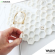 Download free 3D printing designs Wallhive | Modular Home Wall Storage System, Avooq