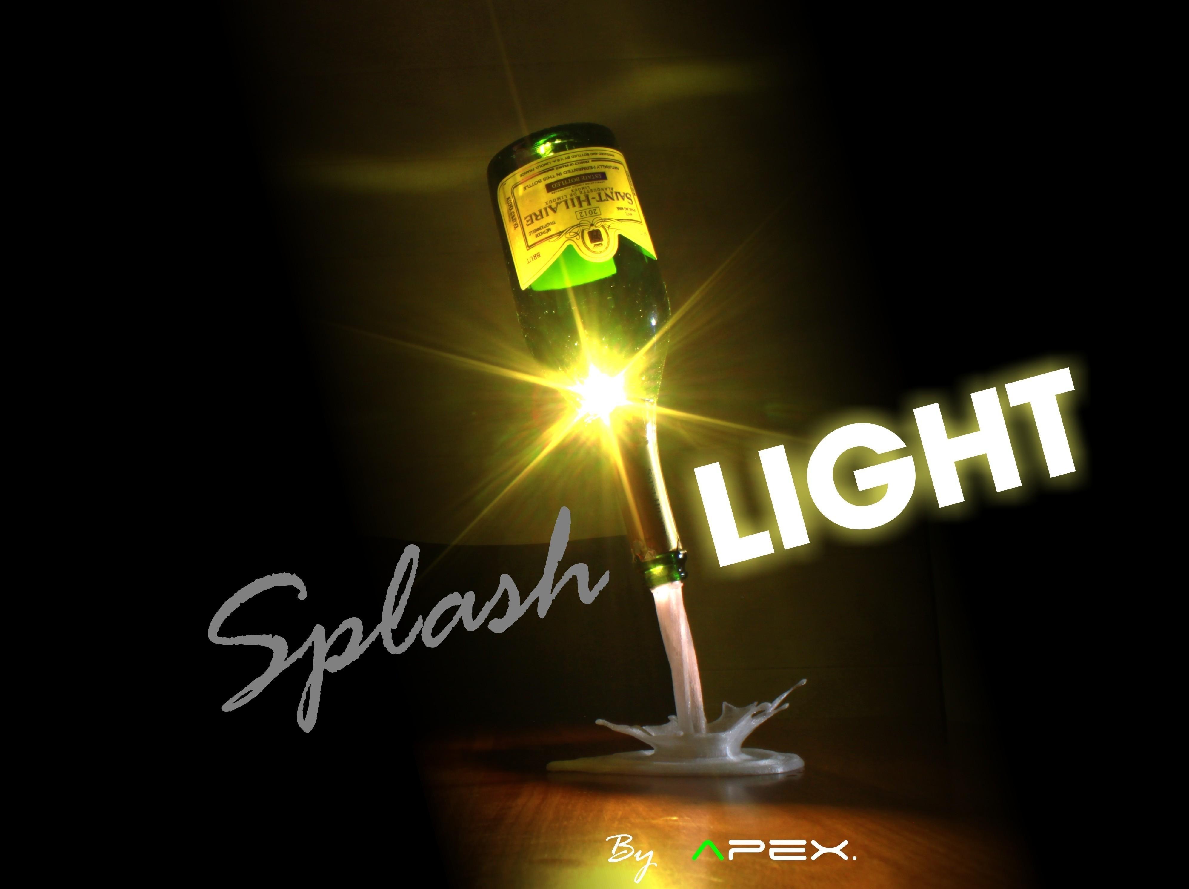 Splash_Light_by_Apex.jpg Download free STL file SplashLIGHT • 3D print object, Avooq