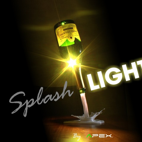 Download free STL SplashLIGHT, Avooq