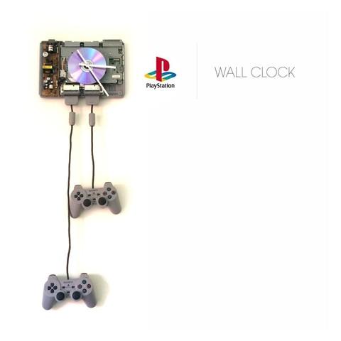 Free stl Playstation 1 | Wall Clock, Avooq