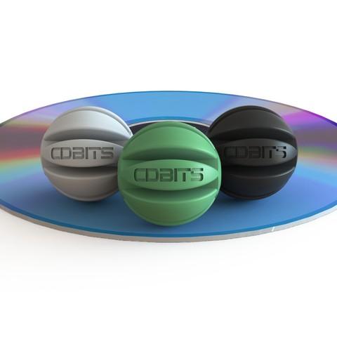 CDBITS_3.jpg Download free STL file CDBITS   Expandable, modular CD and DVD connectors. • 3D printing object, Avooq