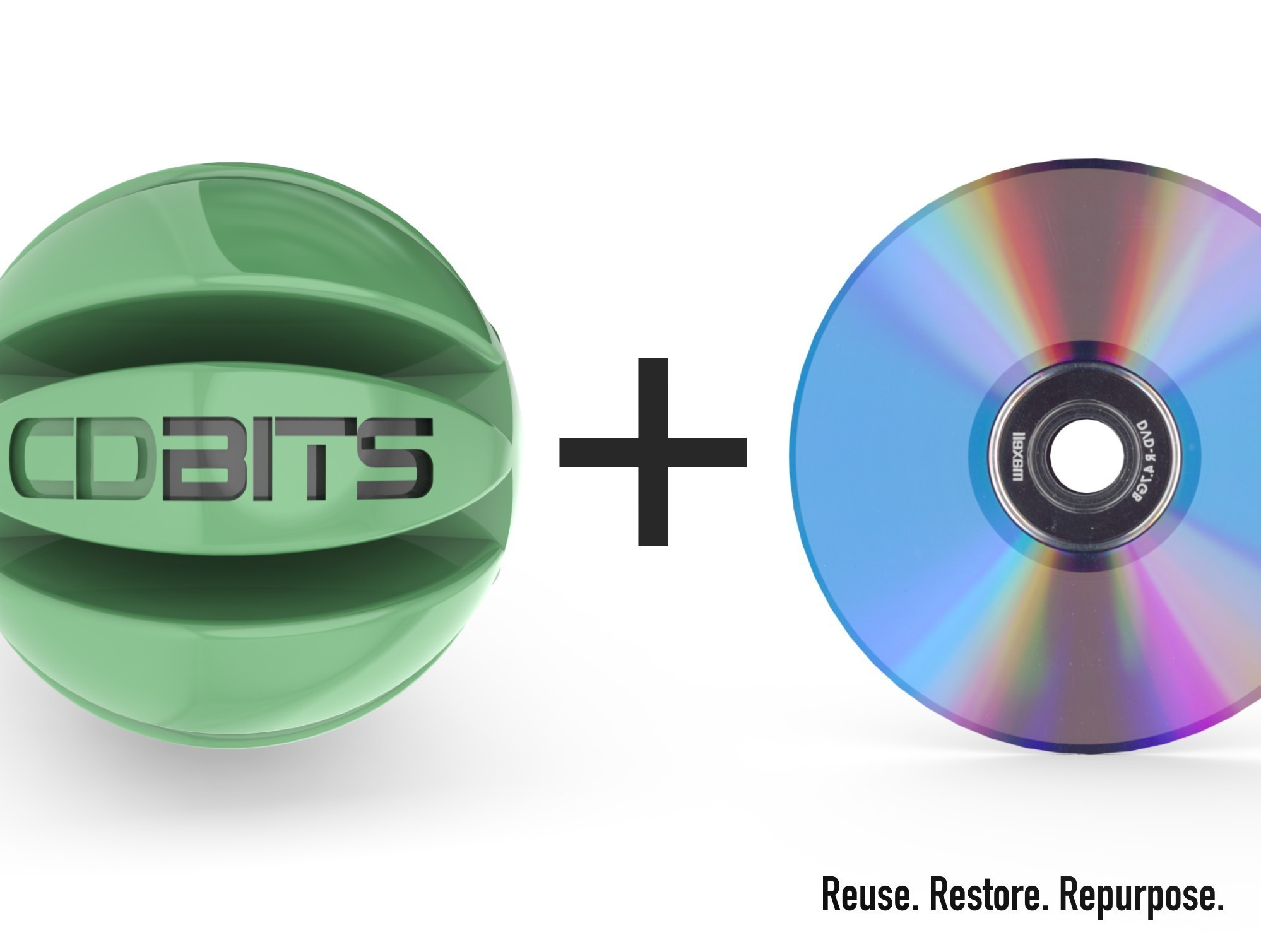 CDBITS_2.jpg Download free STL file CDBITS   Expandable, modular CD and DVD connectors. • 3D printing object, Avooq