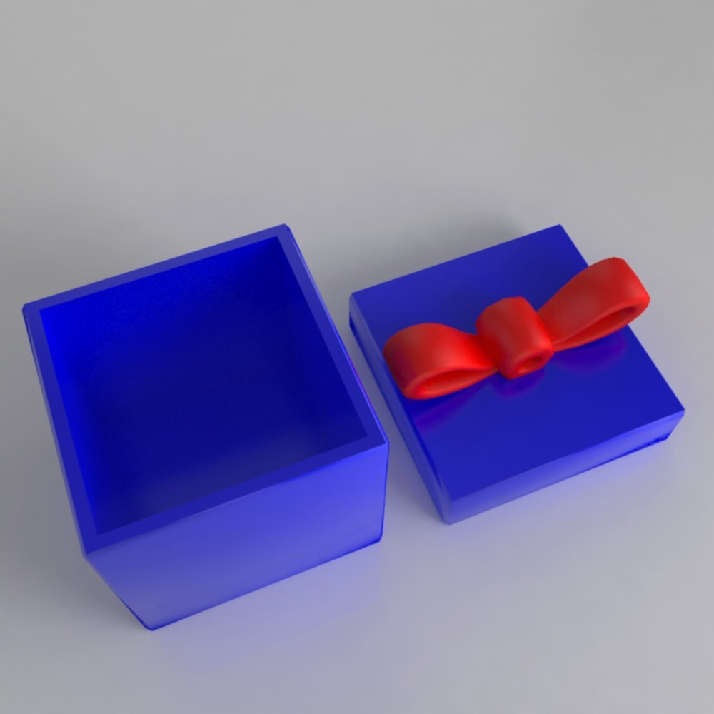 Gift2.jpg Download STL file Pack décoration pour Noël • 3D printable model, Shigeryu